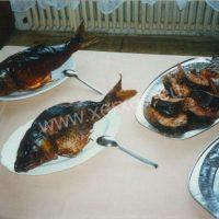 Ochutnávka uzených ryb v Manažerském institutu a SOU a SOŠ stravování