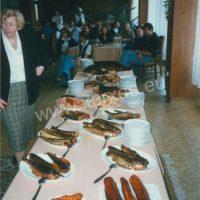 Prezentace uzených ryb a rybích výrobků v Manažerském institutu a SOU a SOŠ stravování