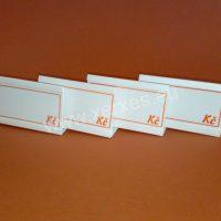 UNI cenovky 105 x 65 mm s výměnným štítkem_stojánek