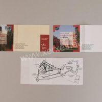 Vstupenky papírové archové Náchod a Hrádek u Nechanic