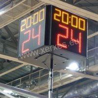 basketbalový odpočet 24 s_kostka s hracím časem