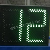 fotbalová střídací tabulka_zelená