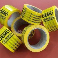 lepící páska s potiskem DEMO SHIPMENT_1