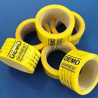 lepící páska s potiskem DEMO SHIPMENT_2