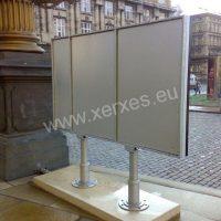 mobilní konstrukce pro LED obrazovku