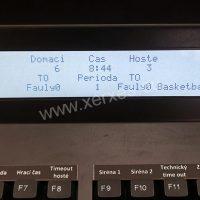 ovládací pult PULT 30A_detail LCD displeje
