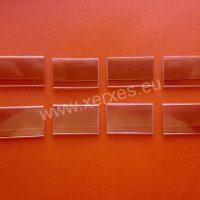 plastové závěsné cenovky nasunovací