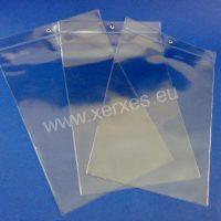 průhledná závěsná kapsa s kovovým okem_1